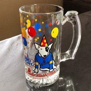 Vintage 1987 Bud Light Spuds Mackenzie Beer Mug